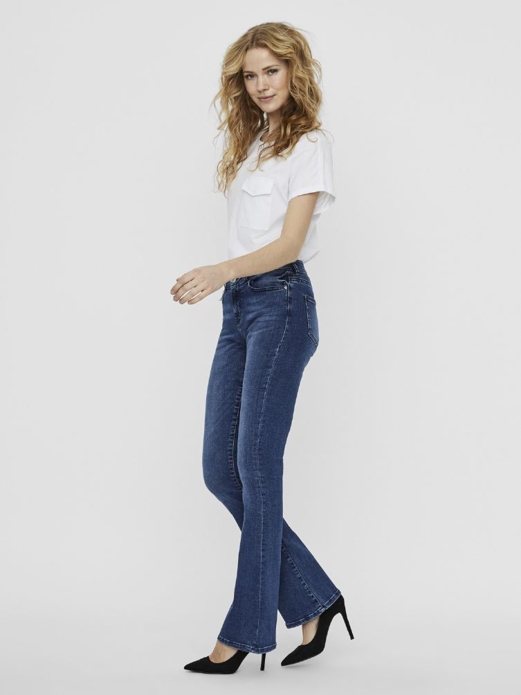 Marli nw slim flare jeans