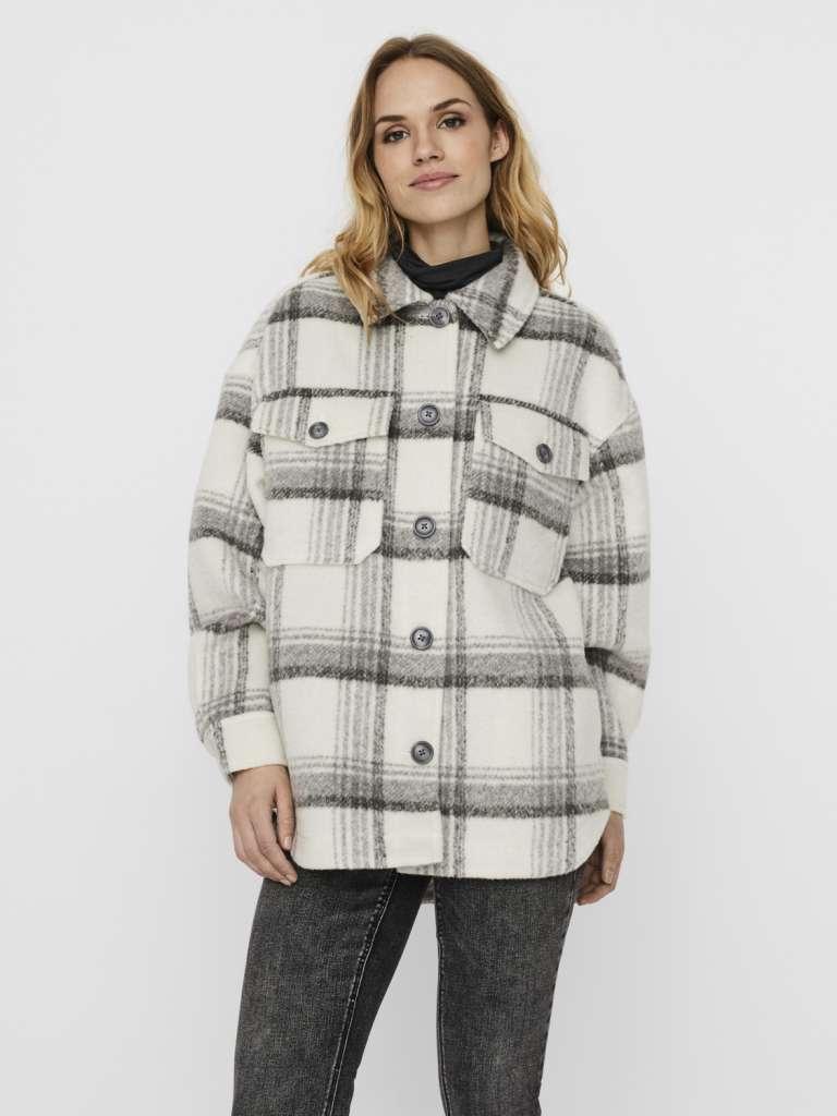Dawn check jacket