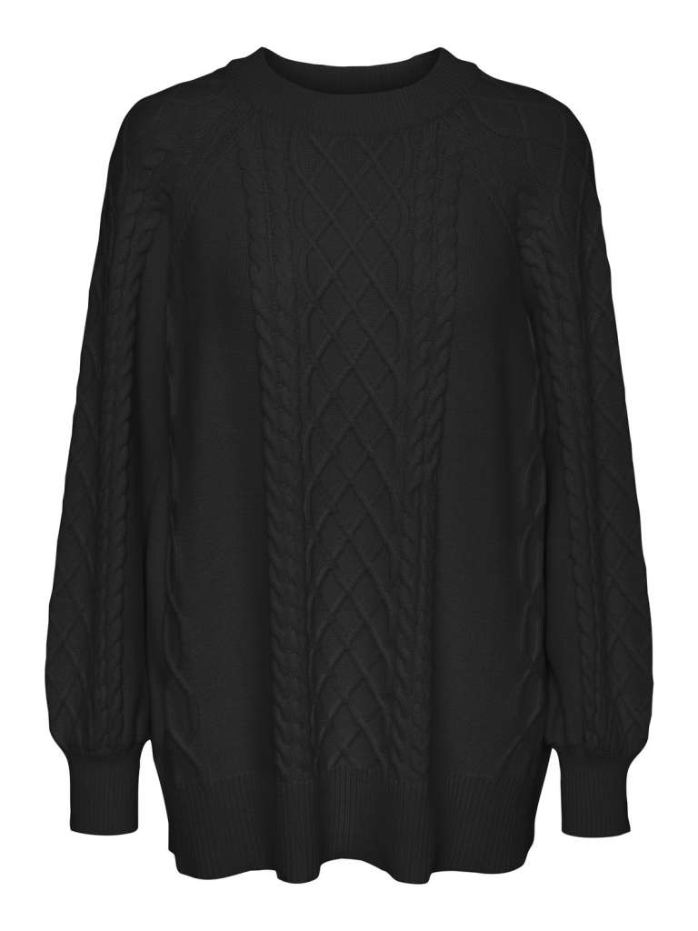 Row oversize knit