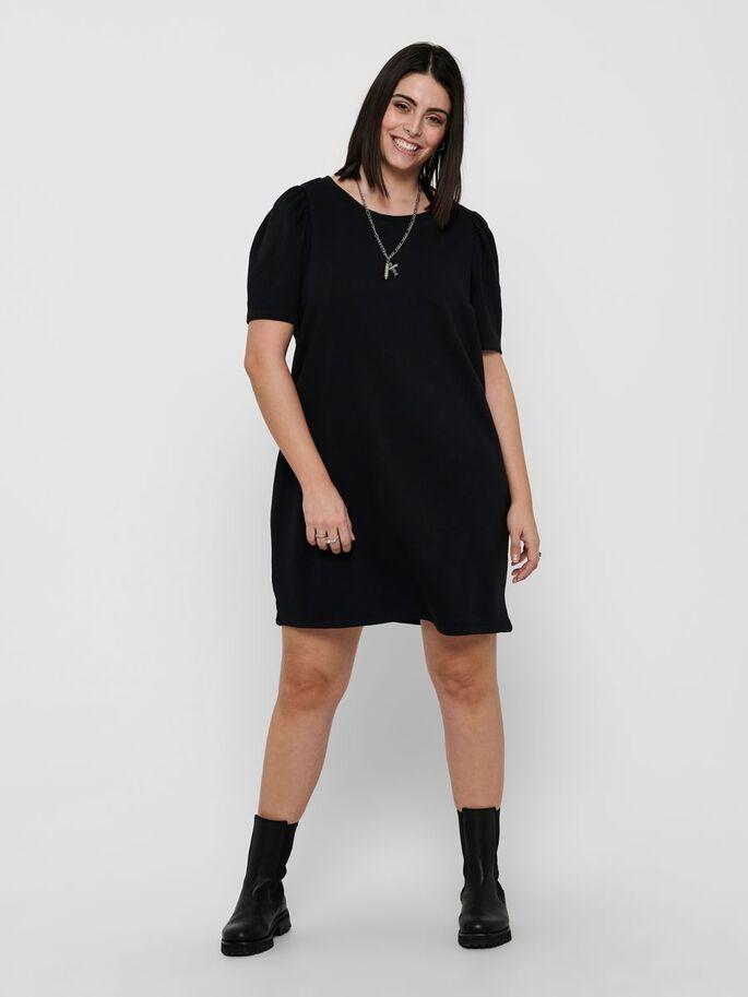 Dina life s/s o-neck dress