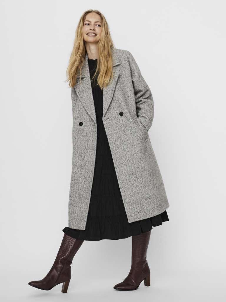 jaida long wool jacket
