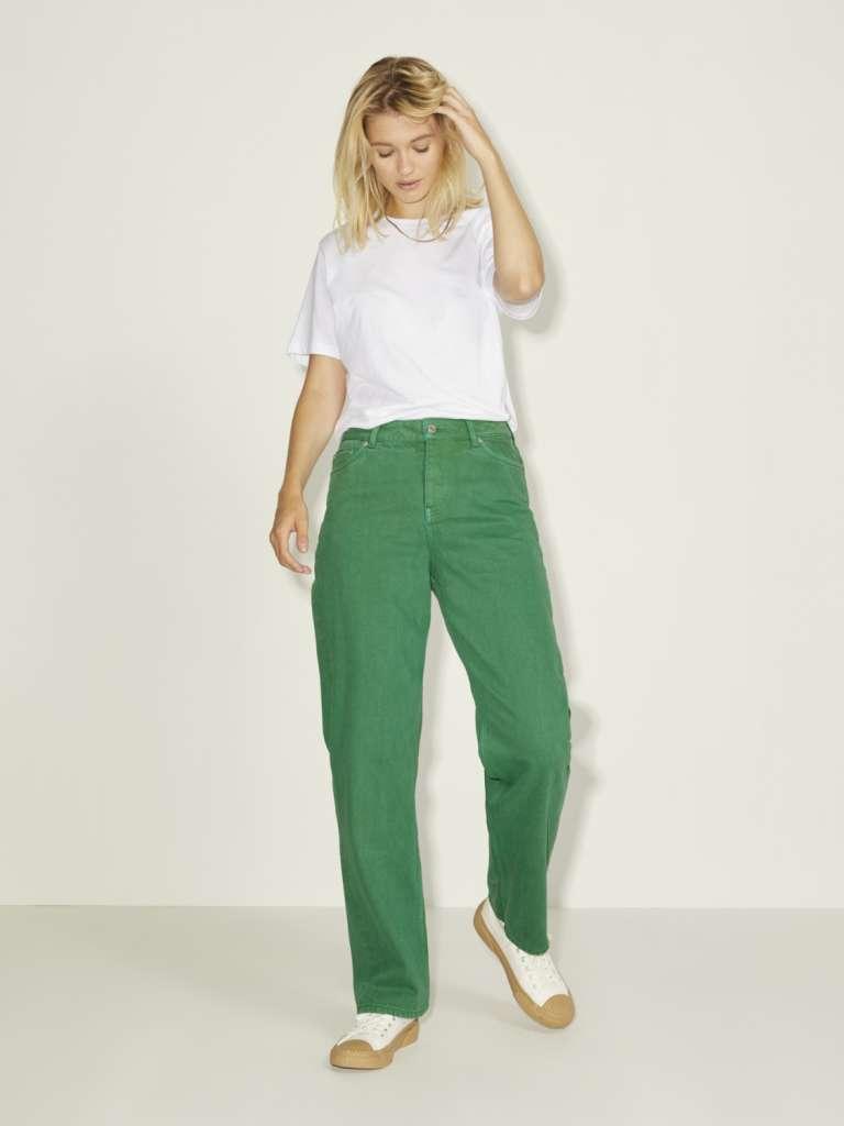 seoul straitght mw jeans Grønn
