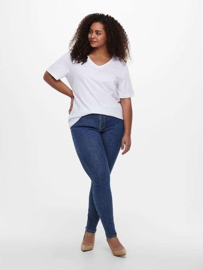 Floria skinny jeans medium blue