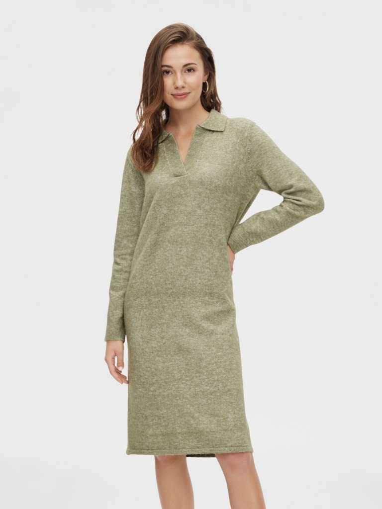 Flava wool knit dress