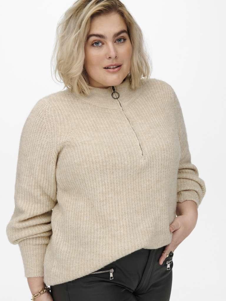 Karin zip pullover