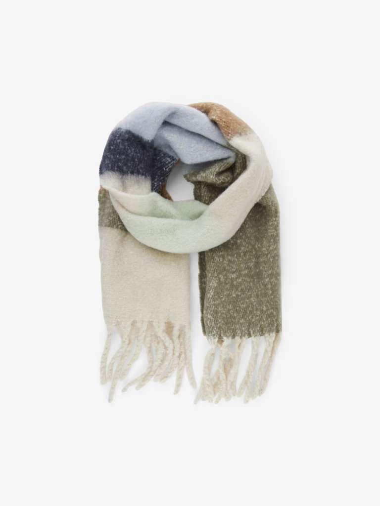 Bea long scarf .  Mint