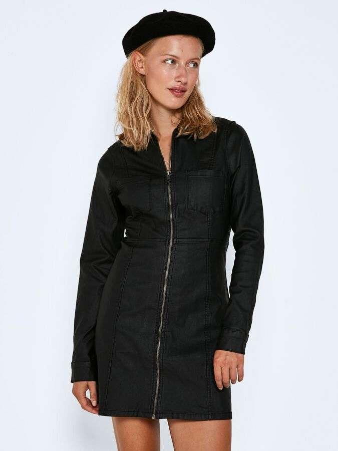lisa zip coated dress