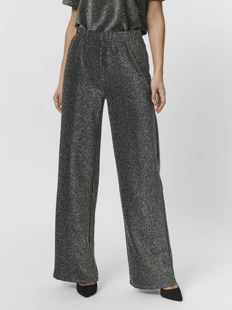 cacheia hw wide pants. Glitter