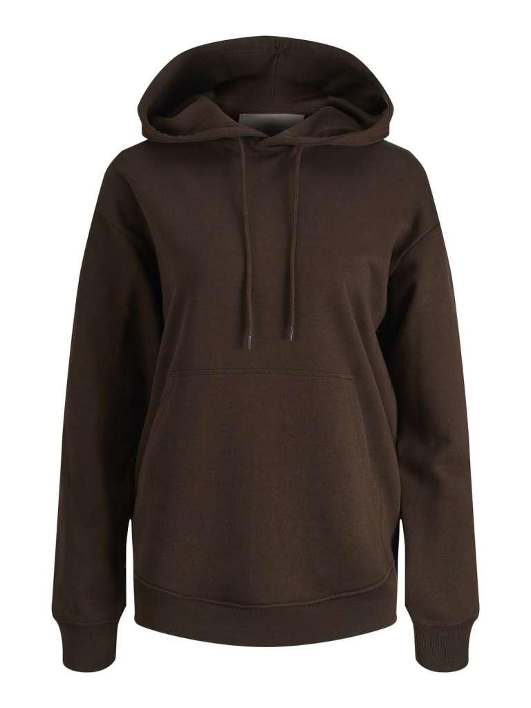 Anna hoodie. Brun