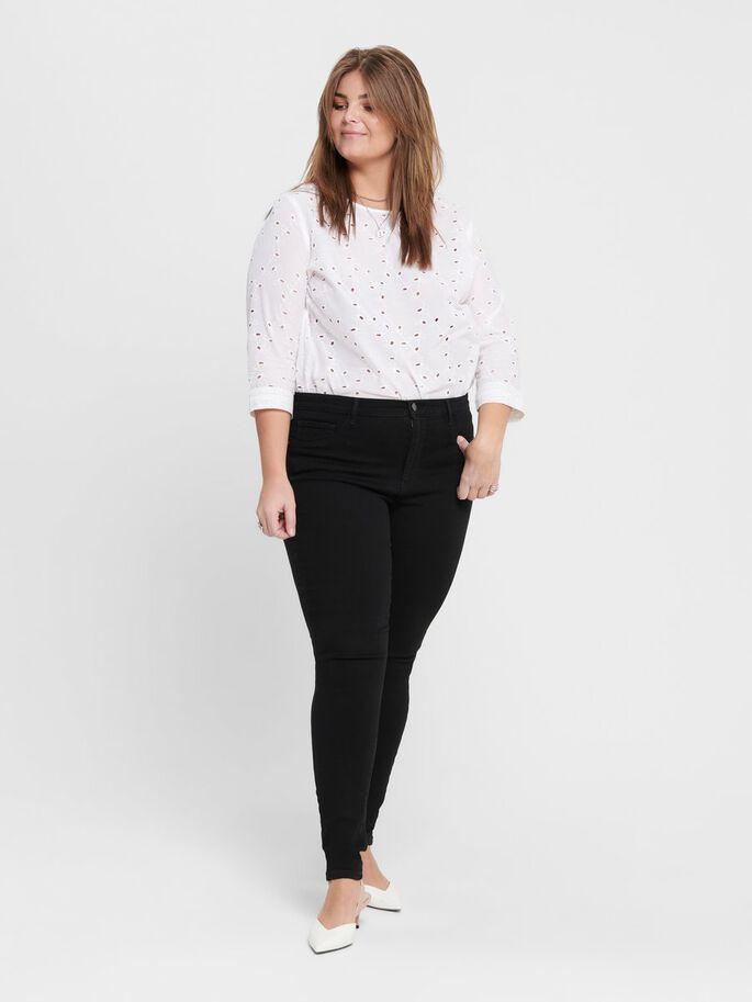 Augusta hw skinn jeans svart